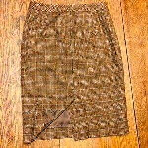 J. Crew Skirts - J.Crew Plaid Pencil Skirt